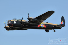 Thunder Over Michigan - 2009  Avro Lancaster Mk X  Canadian Warplane Heritage Museum