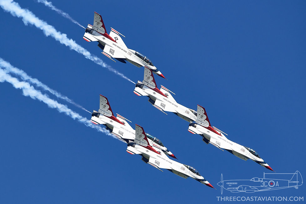 Airshow London - 2020 - USAF Thunderbirds