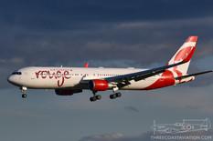 CYYZ - Aug 22, 2019  Boeing 767 Air Canada Rouge