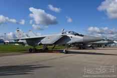 MAKS - 2019  Mikoyan-Gurevich MiG-31 Foxhound