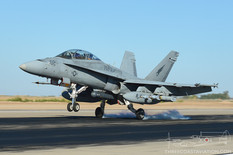 NAF El Centro - Oct 24, 2012  McDonnell Douglas F/A-18D Hornet  VMFA(AW)-533 Hawks - United States Marine Corps