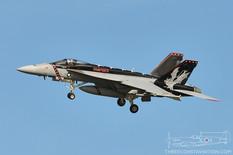 Pt Mugu - Jan 31, 2014  Boeing F-18E Super Hornet  VX-9 Vampires - United States Navy