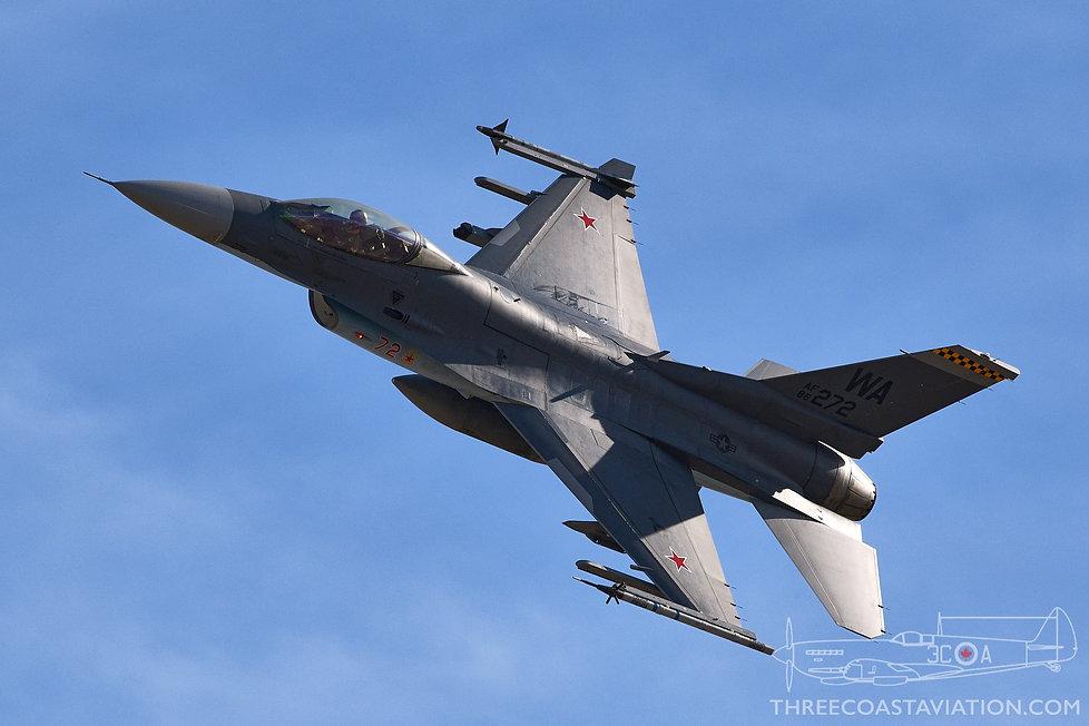 Red Flag 19-1 - Aggressor F-16