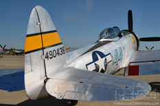 Gathering of Mustangs & Legends - 2007  Republic P-47D Thunderbolt 'Wicked Wabbit'  Tennessee Aviation Museum