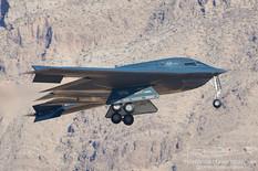 Nellis AFB - Jun 3, 2021  Northrop Grumman B-2 Spirit 'Spirit of Kitty Hawk'  393rd Bomb Squadron - United States Air Force