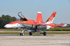 Airshow London - 2017  McDonnell Douglas CF-188 Hornet  CF-18 Demo Team - Royal Canadian Air Force