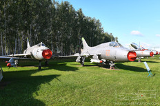 Central Air Force Museum  Sukhoi Su-17 Fitter-B  Sukhoi Su-17M3 Fitter-H