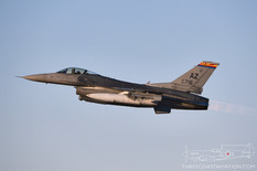 Tucson Air National Guard Base - Feb 20, 2019  General Dynamics F-16C Fighting Falcon  162nd Wing - United States Air National Guard