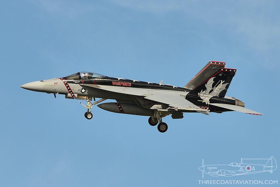 Pt Mugu - F/A-18E Super Hornet