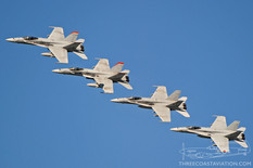 Centennial of Naval Aviation - Naval Air Station North Island  McDonnell Douglas F/A-18C Hornet  VMFA-232 Red Devils - United States Marine Corps