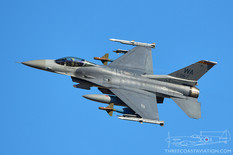 Nellis AFB - Mar 11, 2020  General Dynamics F-16C Fighting Falcon  16th Weapons Squadron - United States Air Force