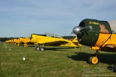 Geneseo Airshow - 2007  North American Harvards
