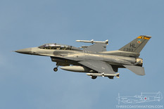 Pt Mugu - Jan 31, 2014  General Dynamics F-16D Fighting Falcon  United States Air Force