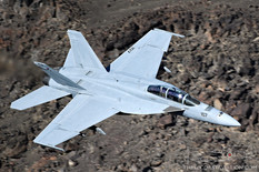 Star Wars Canyon - Dec 4, 2018  Boeing F/A-18F Super Hornet  VFA-154 Black Knights - United States Navy