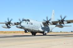 NAF El Centro - Oct 24, 2012  Lockheed Martin KC-130J Super Hercules  United States Marine Corps