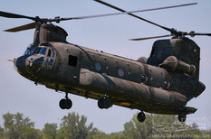 Geneseo Airshow - 2005  Boeing Ch-47 Chinook  United States Army