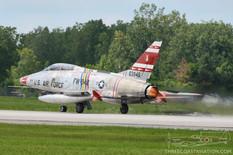 Thunder Over Michigan - 2013  North American F-100F Super Sabre  American Horizons Ltd. Inc.