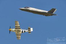 Air Power over Hampton Roads - 2016  Heritage Flight