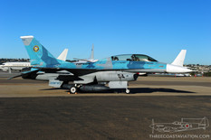 Centennial of Naval Aviation - Naval Air Station North Island  General Dynamics F-16D Fighting Falcon  United States Navy Fighter Weapons School 'TOPGUN'