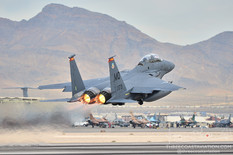 Red Flag 13-2   McDonnell Douglas F-15E Strike Eagle  389th Fighter Squadron 'Thunderbolts' - United States Air Force