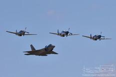 Gathering of Mustangs & Legends - 2007  Heritage Flight