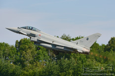 Tactical Weapons Meet - 2017  Eurofighter F-2000A Typhoon  4 Stormo - Italian Air Force