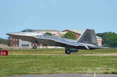 Air Power over Hampton Roads - 2016  Lockheed Martin F-22 Raptor  1st Fighter Wing - United States Air Force