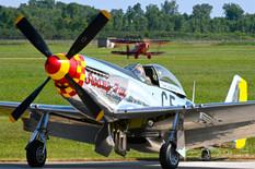 Thunder Over Michigan - 2019  North American P-51D Mustang 'Swamp Fox'