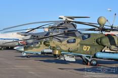 MAKS - 2019  Mil Mi-28 Havoc  Kamov Ka-52 Alligator  Mil Mi-26 Halo