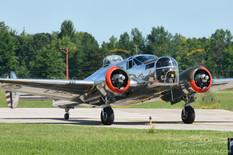 Thunder Over Michigan - 2013  Beechcraft AT-11 Kansan '3 Hits and a Miss'