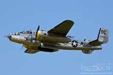 Thunder Over Michigan - 2019  North American B-25D Mitchell 'Yankee Warrior'  Yankee Air Museum
