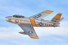 Aviation Nation - 2016  North American F-86F Sabre 'Jolley Roger'  Planes of Fame Air Museum