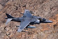 Star Wars Canyon - Sep 12, 2018  McDonnell Douglas AV-8B Harrier II  VX-31 Dust Devils - United States Navy
