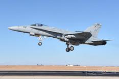 NAF El Centro - Nov 10, 2016  McDonnell Douglas F/A-18C Hornet  VMFA-323 Death Rattlers - United States Marine Corps