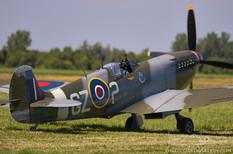 Geneseo Airshow - 2005  Supermarine Spitfire Mk IXe  Military Aviation Museum