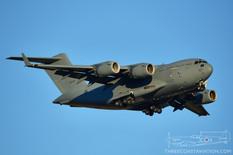 Nellis AFB - Mar 11, 2020  Boeing C-17A Globemaster III  Royal Australian Air Force