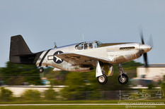 EAA AirVenture Oshkosh - 2021  North American P-51C Mustang 'Lope's Hope 3rd'  Dakota Territory Air Museum