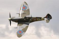 Thunder Over Michigan - 2009  Supermarine Spitfire Mk IX  Russell Aviation Group