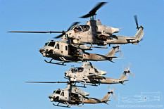 Centennial of Naval Aviation - Naval Air Station North Island  Bell AH-1Z Viper and Bell UH-1Y Venom  United States Marine Corps