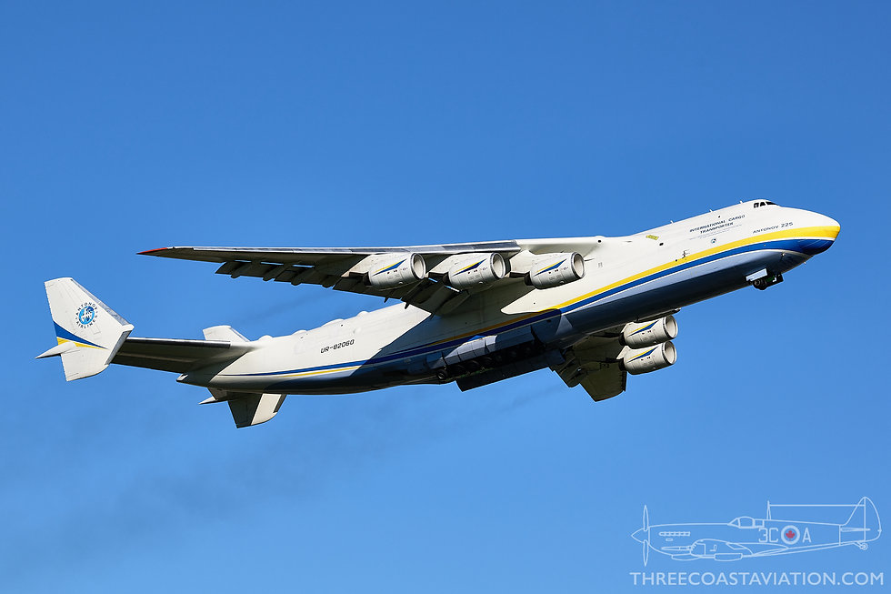 CYYZ - May 31, 2020 - An-225 Departing