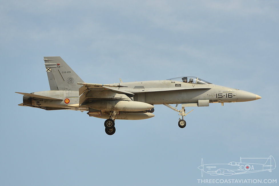 Red Flag 16-4 - Spanish Air Force EF-18M