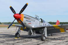 Thunder Over Michigan - 2017  North American P-51C 'By Request'  Red Tail Squadron - Commemorative Air Force