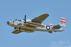 Air Power over Hampton Roads - 2016  North American B-25J Mitchell 'Panchito'  Delaware Aviation Museum Foundation