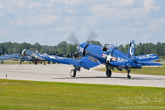 Thunder Over Michigan - 2019  Chance-Vought F4U-4 Corsair  Fargo Air Museum