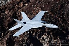 Star Wars Canyon - Jan 24, 2019  Boeing F/A-18E Super Hornet  VX-9 Vampires - United States Navy