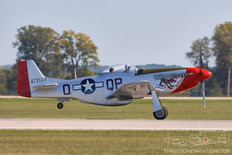 Gathering of Mustangs & Legends - 2007  North American P-51D Mustang 'Red Dog XII'