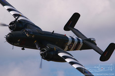 Geneseo Airshow - 2007  North American B-25J Mitchell 'Grumpy'  Canadian Warplane Heritage Museum