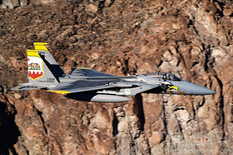 Star Wars Canyon - Jan 23, 2019  McDonnell Douglas F-15C Eagle  194th FS Griffins - United States Air National Guard