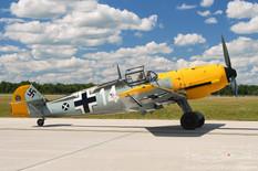 Thunder Over Michigan - 2008  Messerschmitt Bf-109E-4  Russell Aviation Group