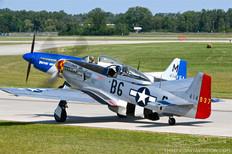 Thunder Over Michigan - 2019  North American P-51D Mustang 'Gentleman Jim'  Jack Roush